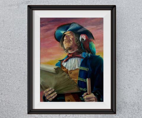 Captain Long John Silvers