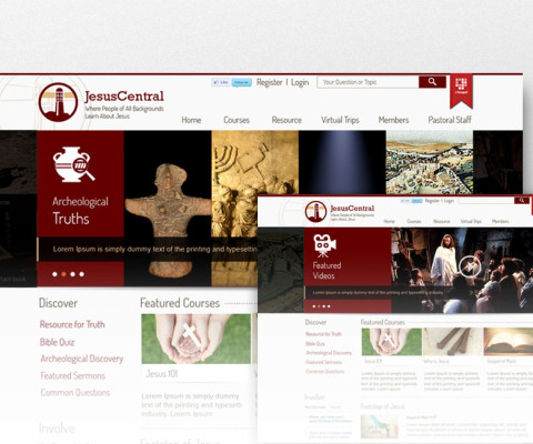 Jesus Central Website